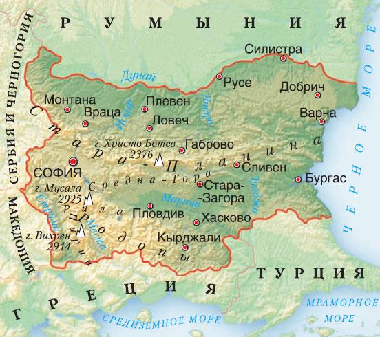 Хисар Болгария На Карте